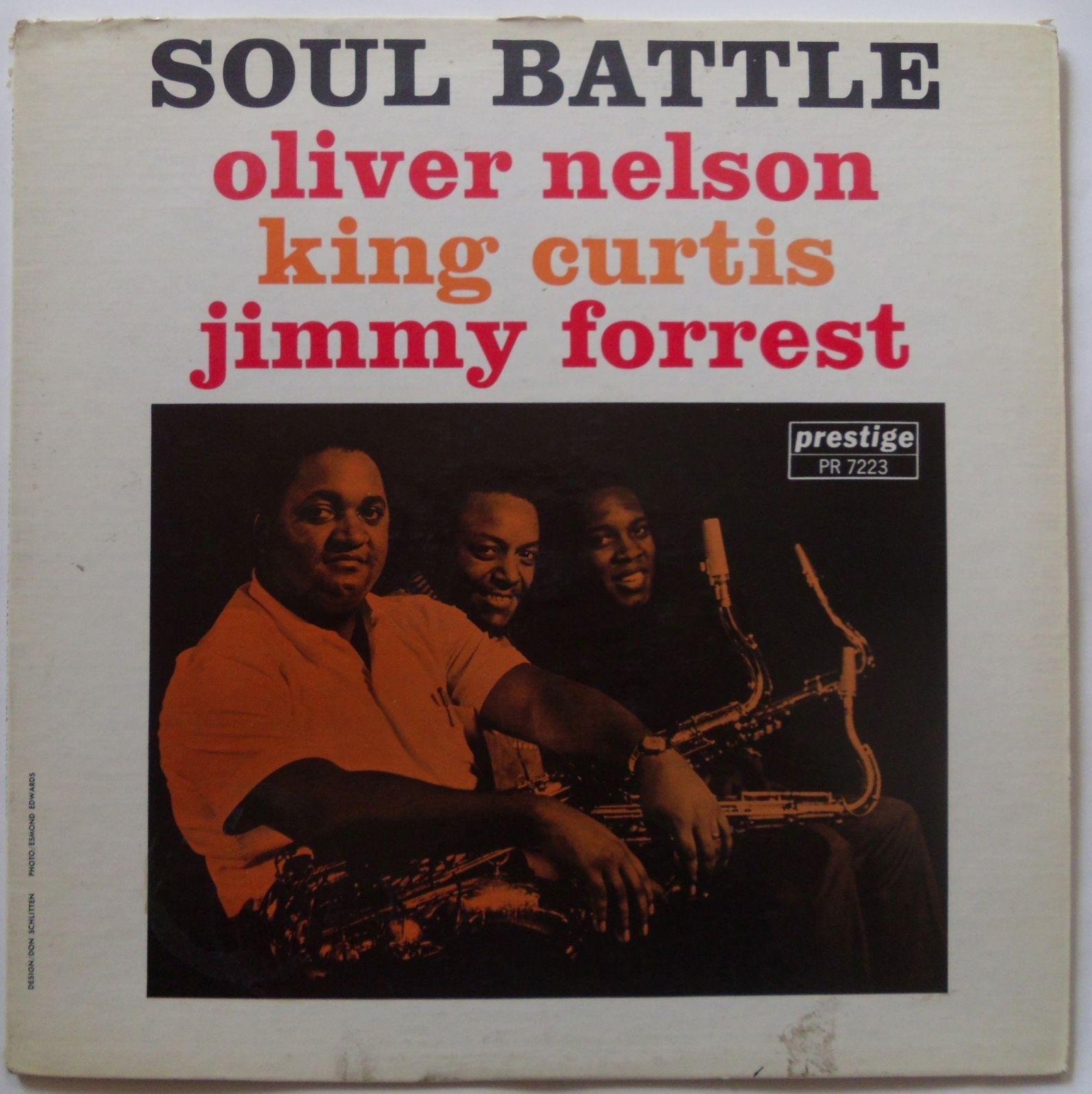 OLIVER NELSON - Soul Battle cover