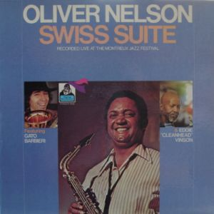 OLIVER NELSON - Swiss Suite cover
