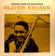 OLIVER NELSON - Taking Care of Business cover
