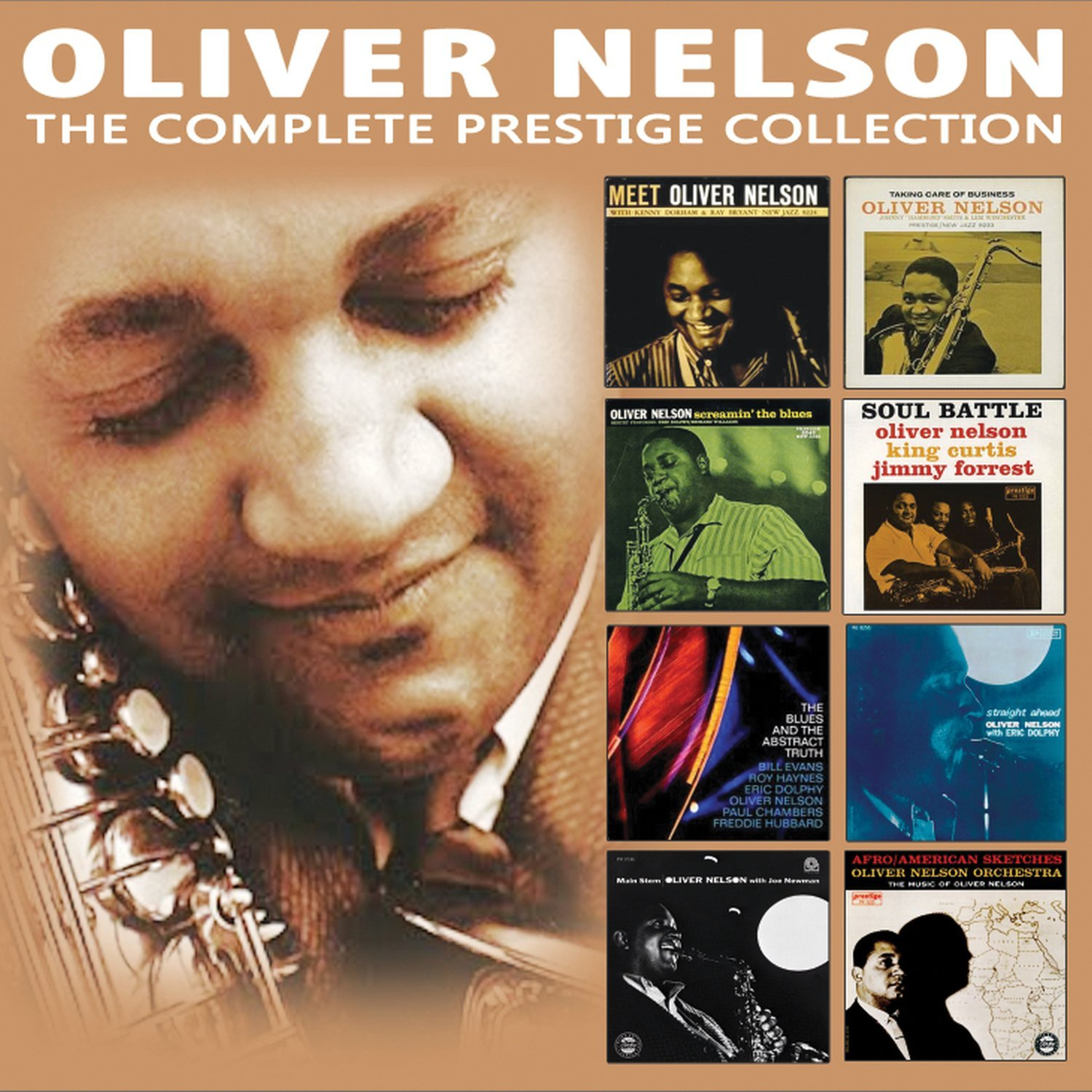 OLIVER NELSON - The Complete Prestige Collection cover