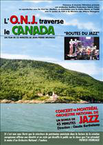 ORCHESTRE NATIONAL DE JAZZ - L'O.N.J. Traverse Le Canada cover