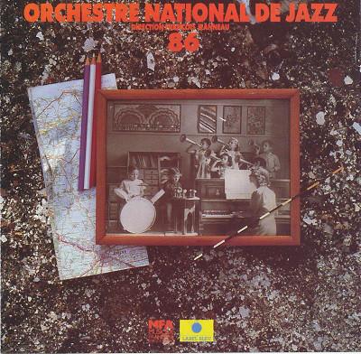 ORCHESTRE NATIONAL DE JAZZ - Orchestre National De Jazz 86 cover