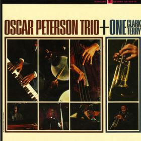OSCAR PETERSON - Oscar Peterson Trio + One (aka Oscar Peterson - Clark Terry(Amiga) aka Mumbles) cover