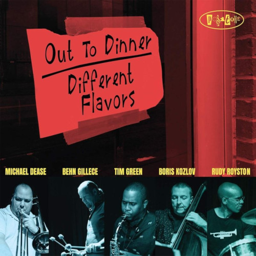 OUT TO DINNER - Different Flavors cover