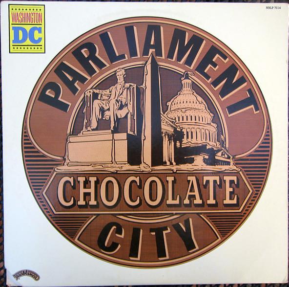PARLIAMENT - Chocolate City cover