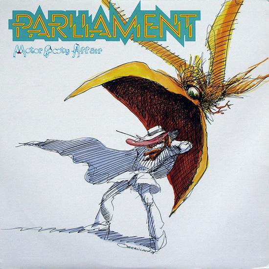 PARLIAMENT - Motor Booty Affair cover