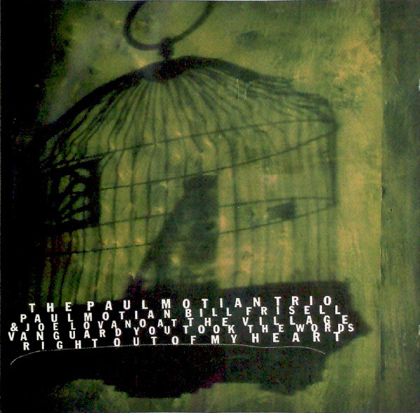 PAUL MOTIAN - The Paul Motian Trio at the Village Vanguard cover