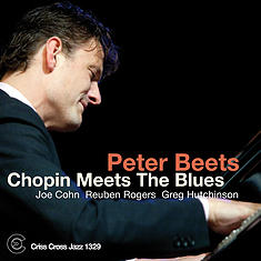 PETER BEETS - Chopin Meets The Blues cover