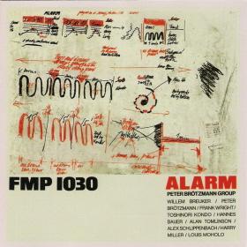 PETER BRÖTZMANN - Alarm cover