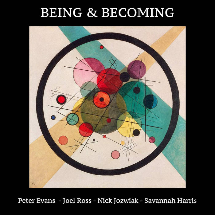 PETER EVANS - Being & Becoming cover