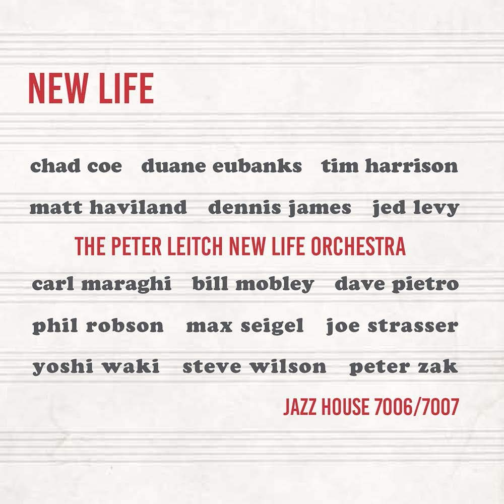 PETER LEITCH - The Peter Leitch New Life Orchestra : New Life cover