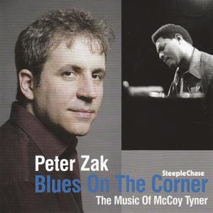 PETER ZAK - Blues on the Corner cover