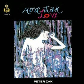 PETER ZAK - More Than Love cover
