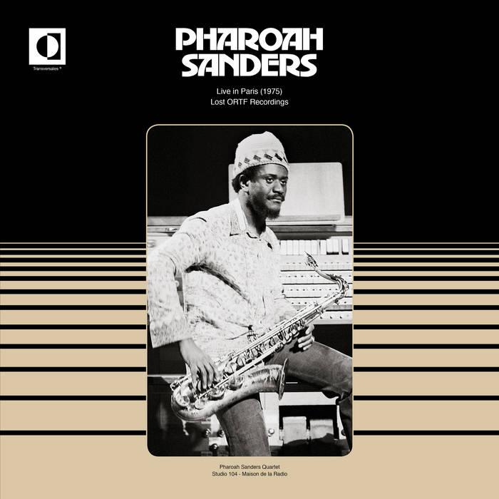 PHAROAH SANDERS - Live in Paris (1975) cover