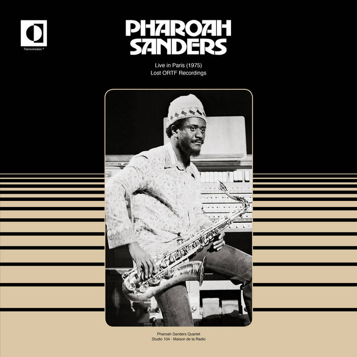 PHAROAH SANDERS - Live in Paris (1975) cover