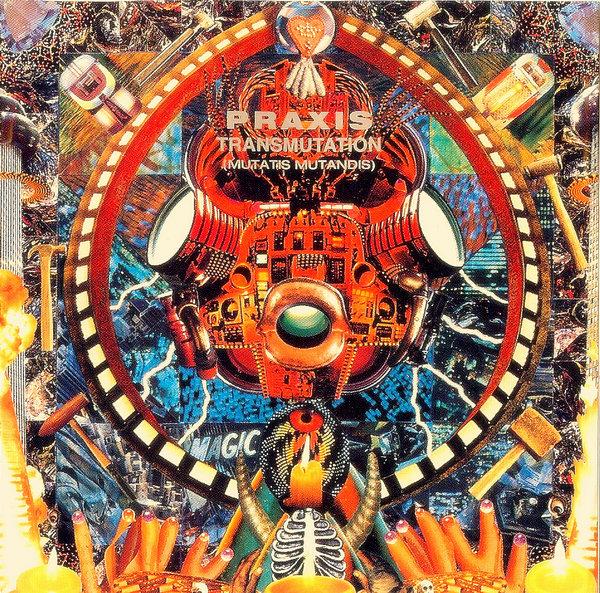 PRAXIS - Transmutation (Mutatis Mutandis) cover