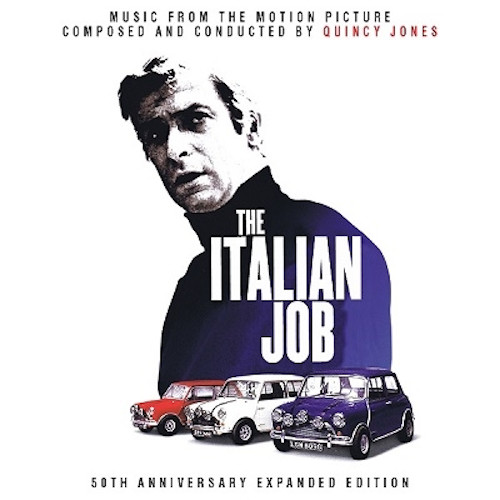 QUINCY JONES - Italian Job (50th Anniversary Expanded Edition) cover
