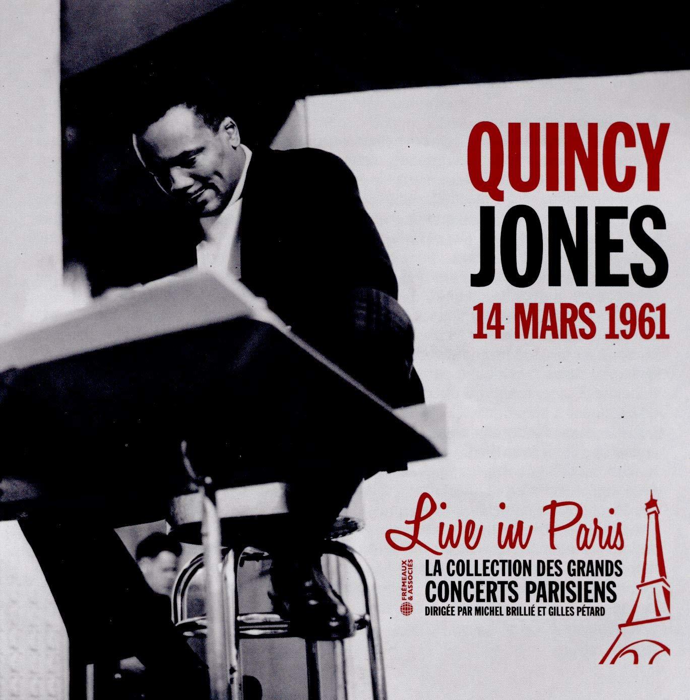 QUINCY JONES - Live in Paris 14 Mars 1961 cover