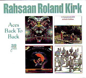 RAHSAAN ROLAND KIRK - Aces Back To Back cover