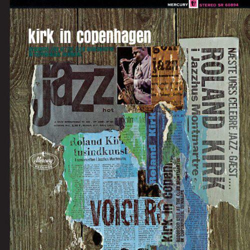 RAHSAAN ROLAND KIRK - Kirk In Copenhagen cover