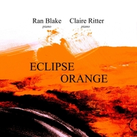 RAN BLAKE - Ran Blake / Claire Ritter : Eclipse Orange cover