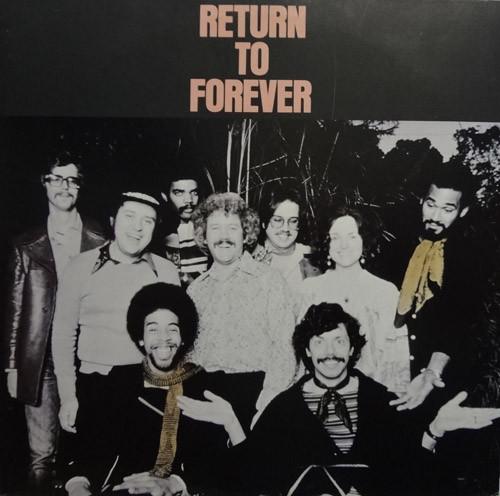 RETURN TO FOREVER - Return To Forever (aka Live) cover