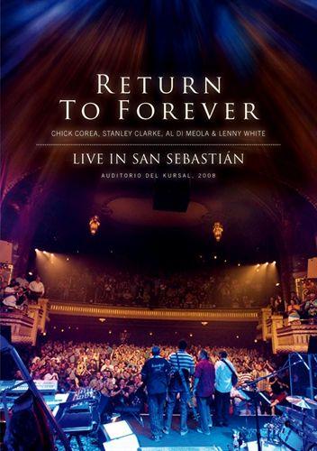 RETURN TO FOREVER - Live in San Sebastian cover