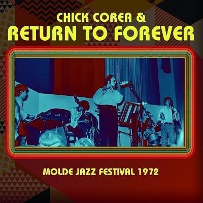 RETURN TO FOREVER - Molde Jazz Festival 1972 cover