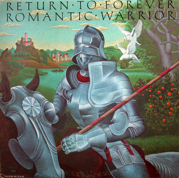 RETURN TO FOREVER - Romantic Warrior cover