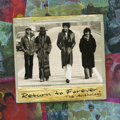 RETURN TO FOREVER - The Anthology cover