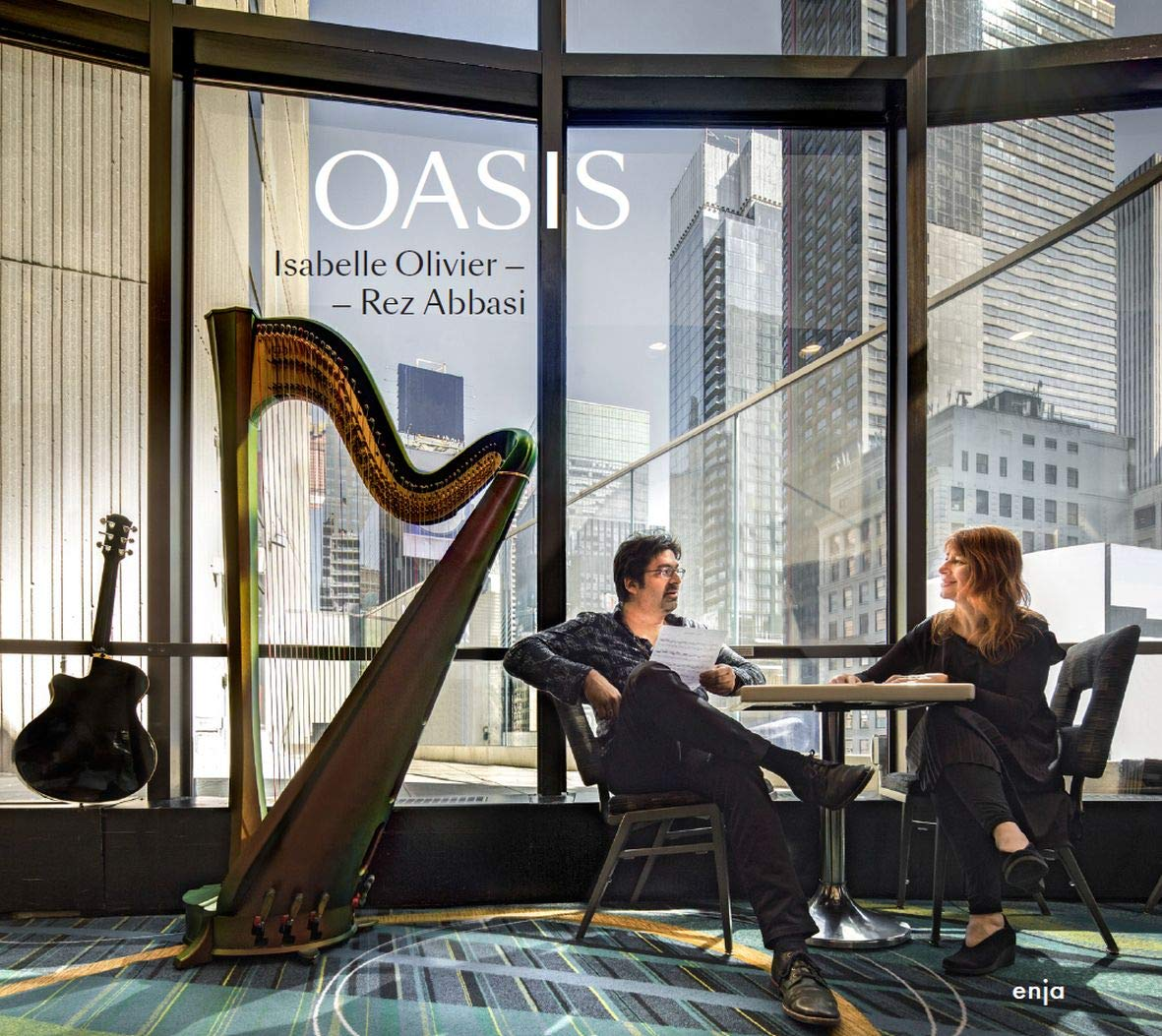 REZ ABBASI - Isabelle Olivier & Rez Abbasi : Oasis cover