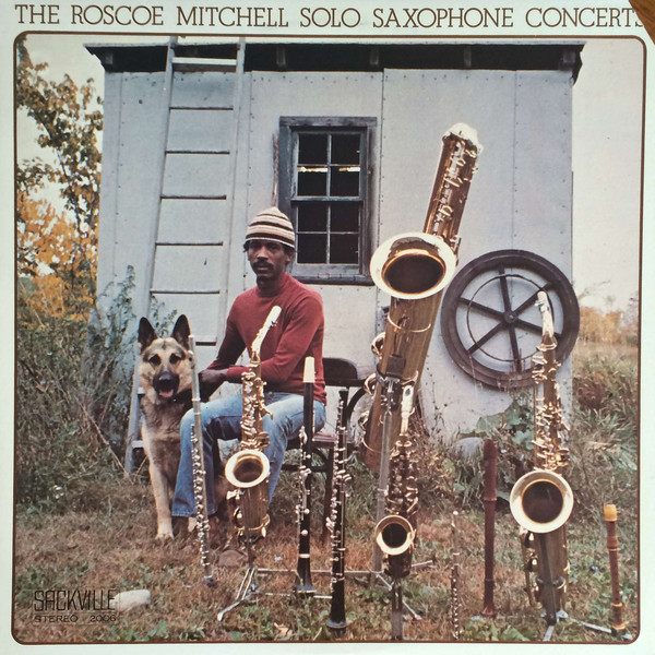 ROSCOE MITCHELL - Solo Saxophone Concerts (aka The Solo Concert) cover