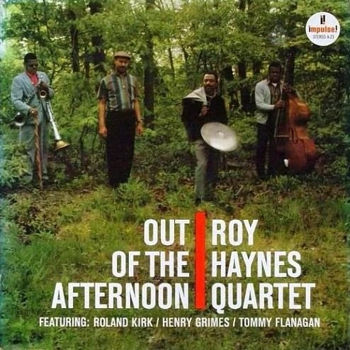 ROY HAYNES - Out of the Afternoon cover