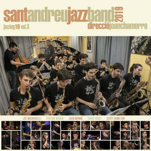 SANT ANDREU JAZZ BAND - Jazzing 10 Vol.3 cover