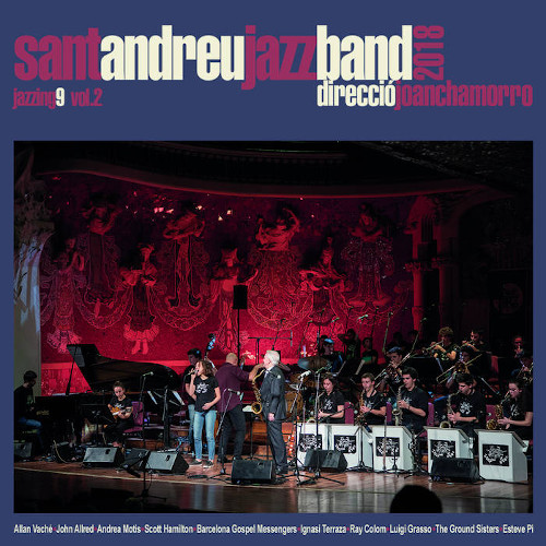 SANT ANDREU JAZZ BAND - Jazzing 9 - Vol.2 cover