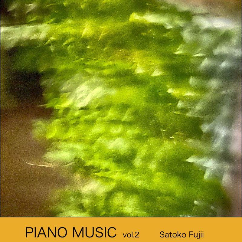 SATOKO FUJII - Piano Music Vol. 2 cover