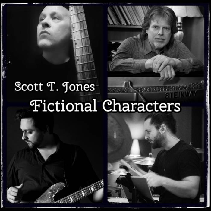 SCOTT JONES - Fictional Characters cover