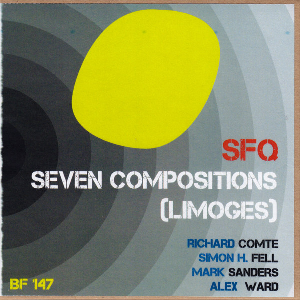 SIMON H FELL - SFQ ‎: Seven Compositions (Limoges) cover