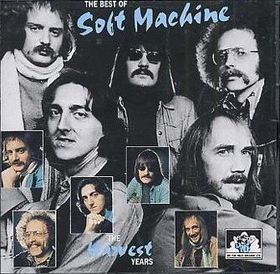 SOFT MACHINE - The Best Of Soft Machine-The Harvest Years cover
