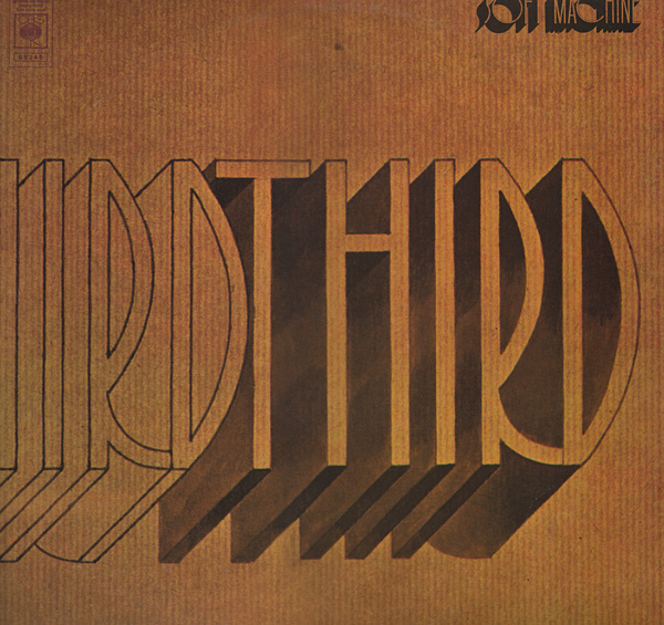 SOFT MACHINE - Third cover