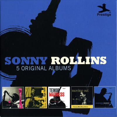SONNY ROLLINS - 5 Original Albums cover