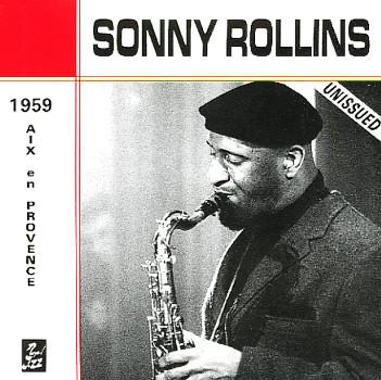 SONNY ROLLINS - Aix En Provence 1959 cover