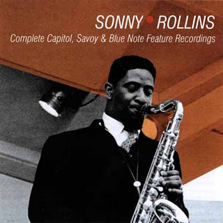 SONNY ROLLINS - Complete Capitol,Savoy And Blue Note Feature Recordings cover