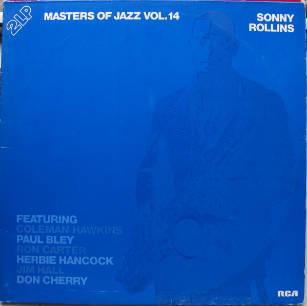 SONNY ROLLINS - Masters Of Jazz Vol.14 cover