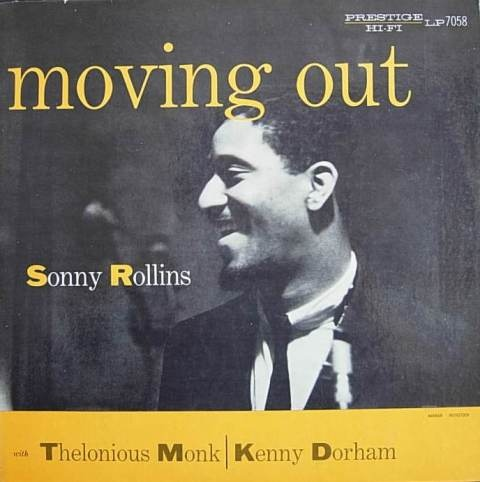 SONNY ROLLINS - Moving Out (aka Jazz Classics) cover