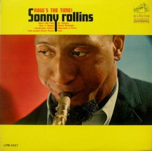 SONNY ROLLINS - Now's the Time! cover