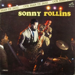 SONNY ROLLINS - Our Man in Jazz cover