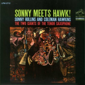 SONNY ROLLINS - Sonny Meets Hawk! cover