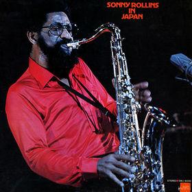 SONNY ROLLINS - Sonny Rollins in Japan cover