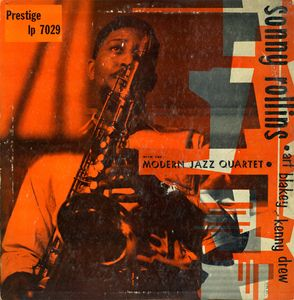 SONNY ROLLINS - Sonny Rollins With the Modern Jazz Quartet (aka Sonny & The Stars aka First Recordings!) cover
